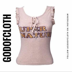 Dolce and Gabbana Nude Tank Super Nature